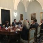 Negocjacje w Pałacu Prezydenta RP