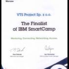 Nagroda dla finalisty konkursu IBM na najbardziej innowacyjny projekt informatyczny w Polsce