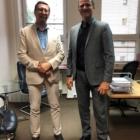 Przyjacielskie spotkanie z Prof. Janem Żarynem w Instytucie